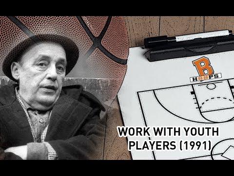 Prof. Aleksandar Aca Nikolic - Work with youth players (1991)