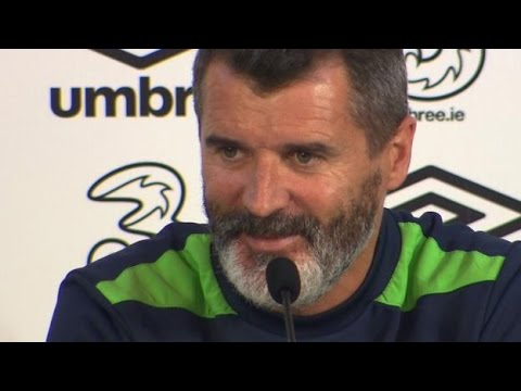 "Republic Of Ireland's Roy Keane Gives Feisty Team Talk ""Take Them Out"" ""Foul Them, It's Not A Crime"""