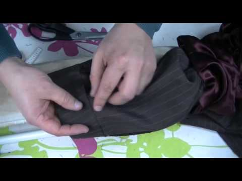 sewing alterations how to shorten Sleeves on a jacket