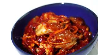 밥도둑 굴젓과 낙지젓 전국 배달-안면도 맛집 딴뚝식당
