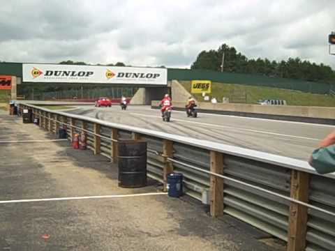 TTXGP Electric Motorcycles at Mid Ohio Road Racing Course - 2009