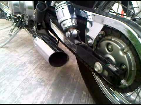 MUFFLER EXHAUST CUT HONDA REBEL 250 EXCELLENT SOUND - YouTube