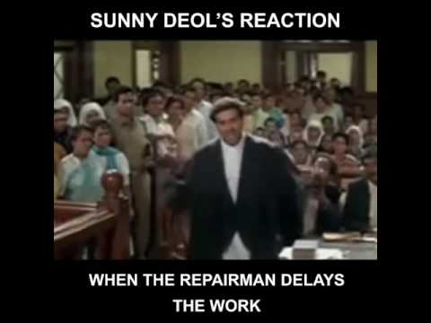 Sunny Deol reaction