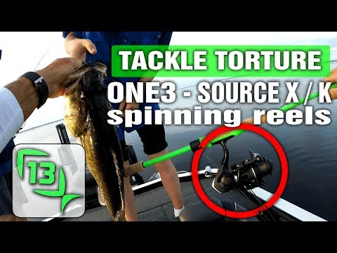 13 Fishing Source X and K Spinning Reel Review – Torture Test