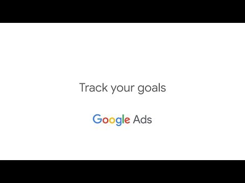 Get Started with Google AdWords: Track Your Goals