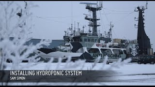 The Sam Simon Installs New Hydroponic System