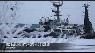 The Sam Simon Installs New Hydroponic System