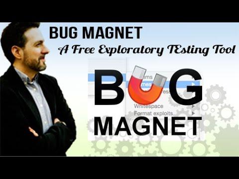 Bug Magnet: Exploratory Testing Tool FREE
