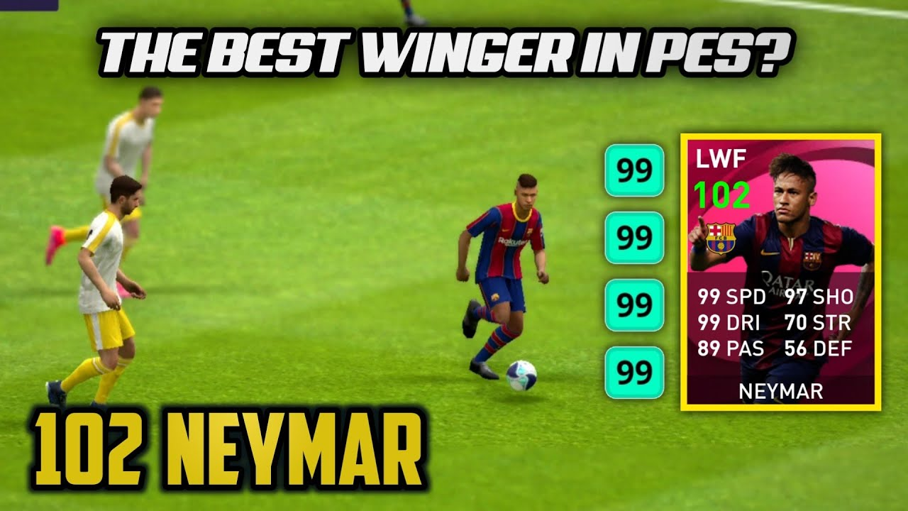 I Tried to Dribble with Iconic Neymar • Best Dribbler in the Game? | Pes 2021