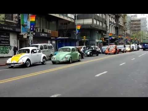 Uruguay (Montevideo) Music-Art-Culture 6 | Vintage Car Parade on the day of patrimony