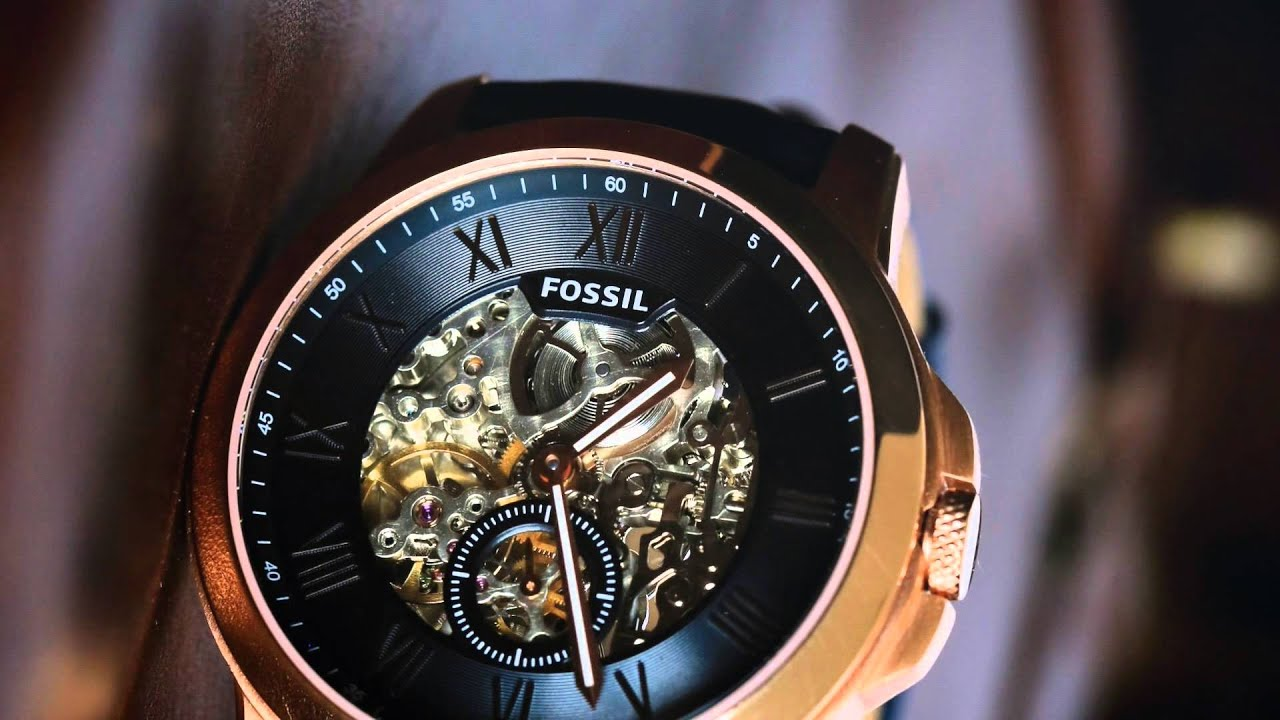 681830067e37 Reloj Fossil Caballero Automatico Original Ultima Colección -   599.000 en  Mercado Libre