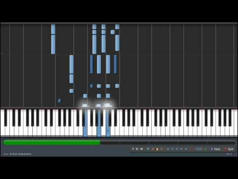 Synthesia - Hellsing Alucard Theme (Piano Tutorial)