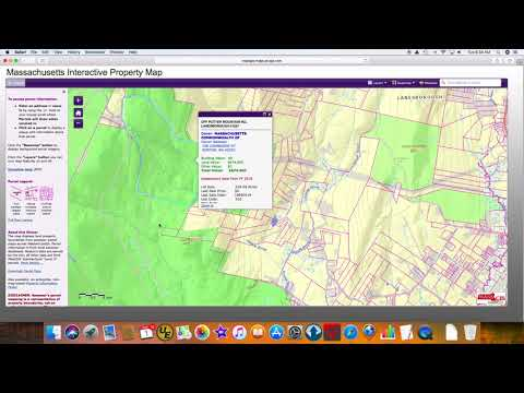 Massachusetts Interactive Property Map Viewer To Determine Property Owners