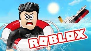 Утонули в РОБЛОКС Roblox на русском