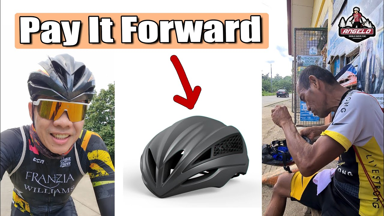 He Deserves This Helmet More Than I Do. (Paying it Forward)