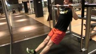 Jackknife Pulls - Step 3 of the Convict Conditioning Pull Up Progression