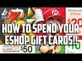 Got Switch eShop Points? WHAT YOU SHOULD BUY! $100 Nintendo Switch Shopping Spree!