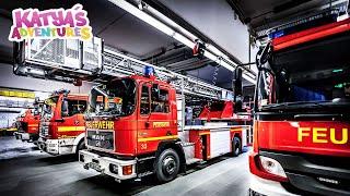 Как работает служба спасения в Германии. Познавательное видео для детей