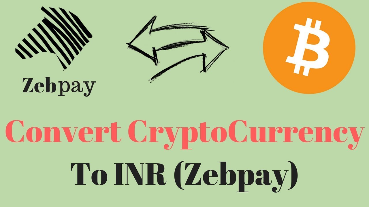 how to convert cryptocurrency into inr