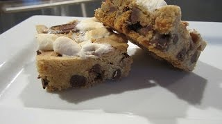 S'mores Cookie Bars - Dessert Bar Recipe