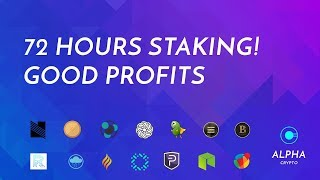 Proof of stake experiement $3500 14 coins which is most profitable Episode 2