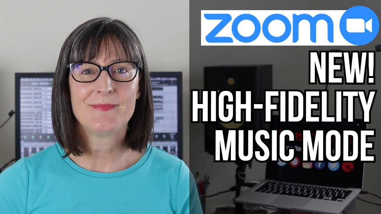 Zoom High Fidelity Music Mode for Online Music Lessons