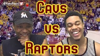 LEBRON DRINKS BEER DURING GAME!!! CAVS VS RAPTORS GAME 1 2017 NBA FULL HIGHLIGHTS AND REACTION!