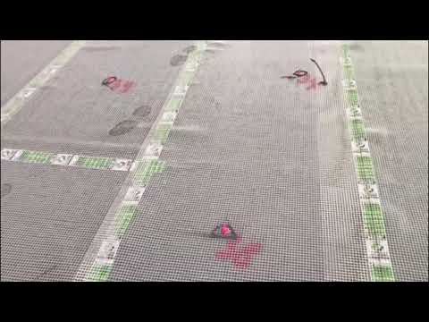 How to install Acoustic Silence Under Screed Insulation for Concrete 1050
