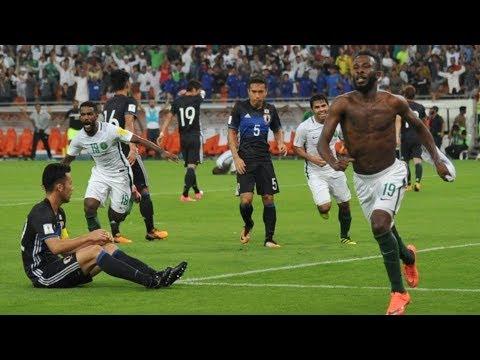هدف فهد المولد في مباراة السعودية واليابان 1-0 | تعليق رؤوف خليف | تصفيات كأس العالم 2018
