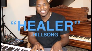 HILLSONG / KARI JOBE - HEALER (Vocal and Piano Cover) (Lyrics and Chords) JARED REYNOLDS
