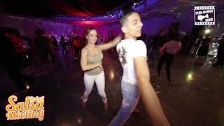Adil & Jenny - Social Dancing @ Rabat Salsa Meeting 2016