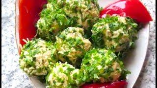 Быстрый и вкусный рецепт острых шариков из сыра и яиц!