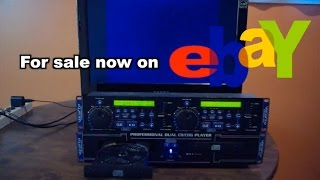 VocoPro CDG 8800 Pro CD+G Karaoke Player For Sale on eBay