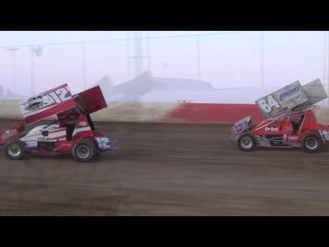Trail-Way Speedway 358 Sprint Car Highlights 04-15-16