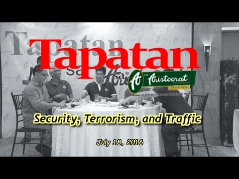 Security, Terrorism and Traffic