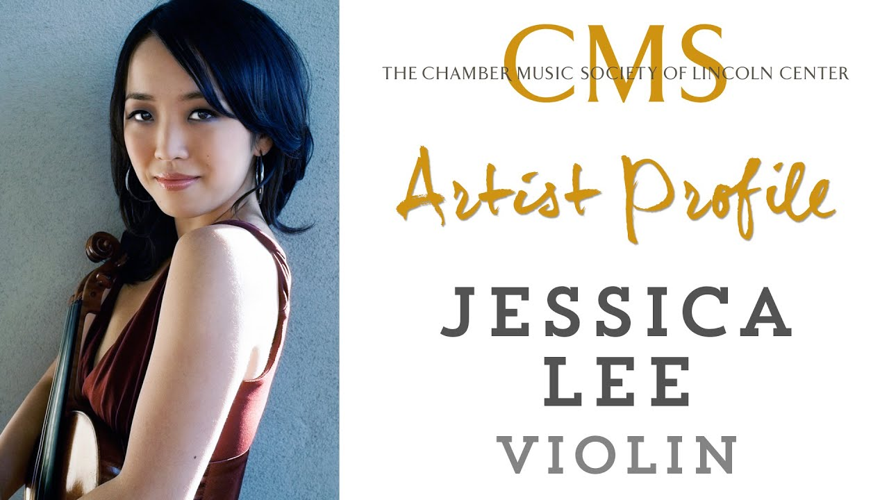 Jessica Lee, violin - November 2011 CMS Artist Profile