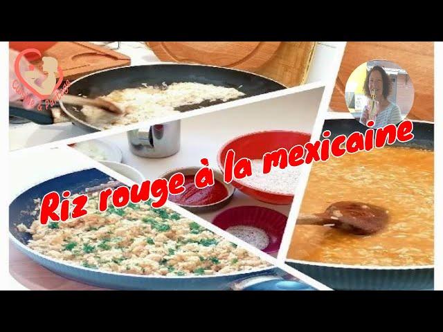 Comment Faire Le Riz Rouge À La Mexicaine