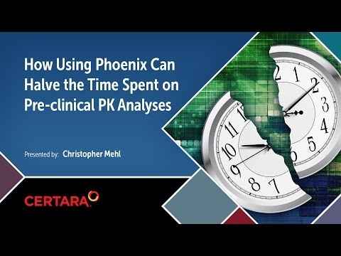 How using Phoenix can halve the time spent on preclinical PK analyses