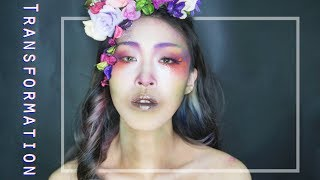 Transformation NYX Professional Makeup FACE AWARDS TW TOP15 ianthe