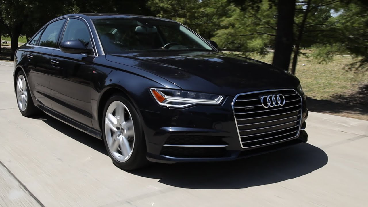 Test Drive 2016 Audi A6 Tdi Quattro Review