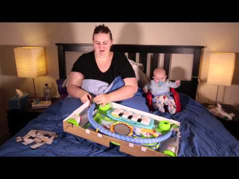 Fisher Price Kick And Play Piano Gym Unboxing And Review -19 April 2015