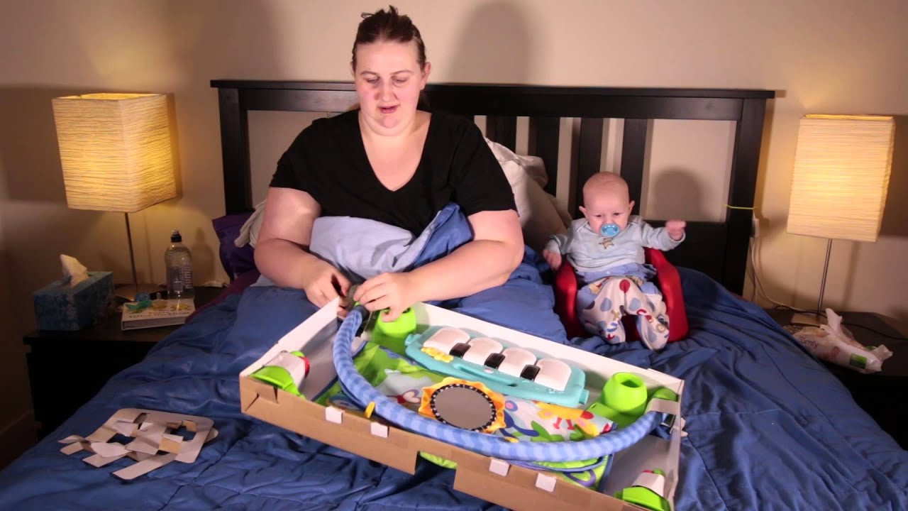Fisher Price Kick And Play Piano Gym Unboxing And Review 19 April