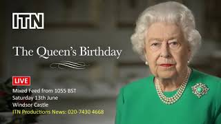 Live: Queen's Birthday Celebrations At Windsor Palace