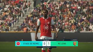 Stade de Reims vs RC Lens   Ligue 2   Journée 30   17 Mars 2018   PES 2018