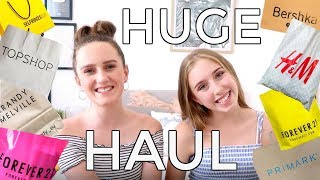 Huge London Shopping HAUL!  Forever 21, H&M, Brandy Melville TopShop, Primark
