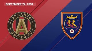HIGHLIGHTS: Atlanta United FC vs. Real Salt Lake | September 22, 2018