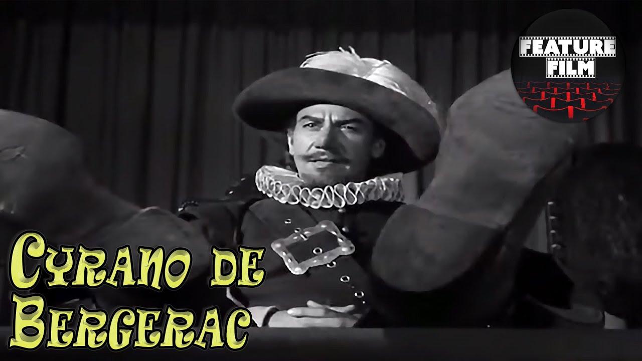 CYRANO DE BERGERAC (1950) | Full movie | Romance, Drama, Adventure | Black and white movies