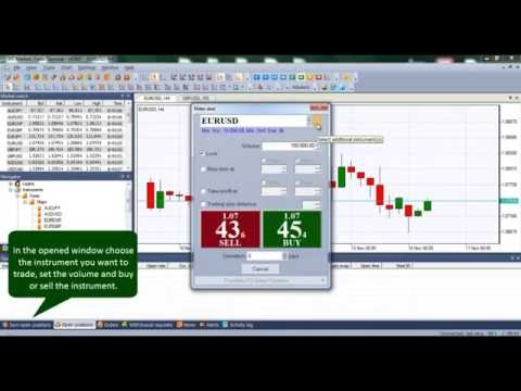 How to open a trading position? | NetTradeX Trading Platform | IFC Markets