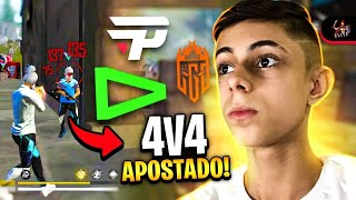🚩KOF MATHZ- 4x4 APOSTADO TA ON!! 🔴FREE FIRE - AO VIVO!