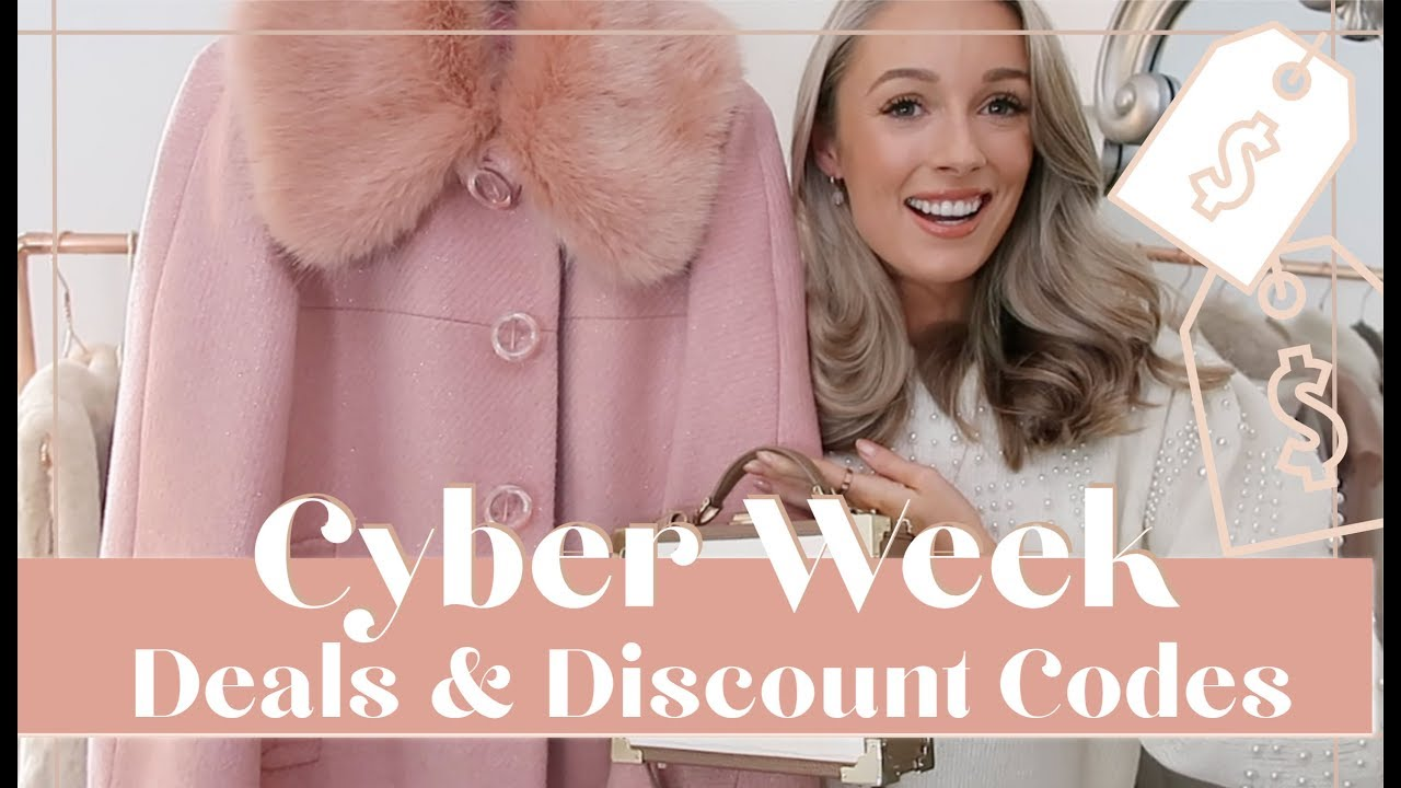 [VIDEO] - EARLY BLACK FRIDAY DISCOUNT CODES 🛍️ & WHAT TO BUY // Fashion Mumblr 2
